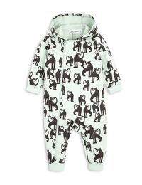 mini rodini - Panther onesie, lt green