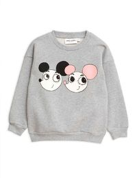 Mini Rodini - Ritzratz sp sweatshirt, grey