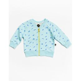 Mainio - Scratch sweat jacket, lt blue