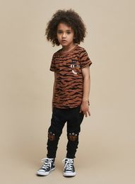 Huxbaby - Tiger Patch T-Shirt, tiger