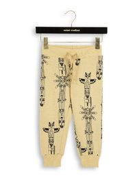 mini rodini - Totem sweatpants, beige