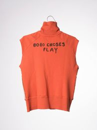 Bobo Choses - SL Zip sweatshirt waterpolo