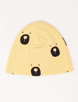 Picnik Barcelona -Bear beanie, yellow