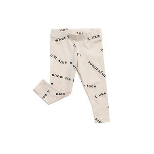 Tinycottons - Many word pants, beige