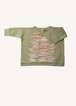 Papu - Straw mess shirt, straw green