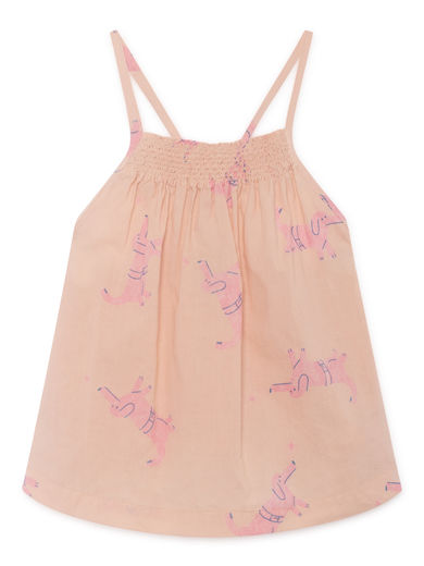 Bobo Choses - Dog Top, Rose Dust (119051)