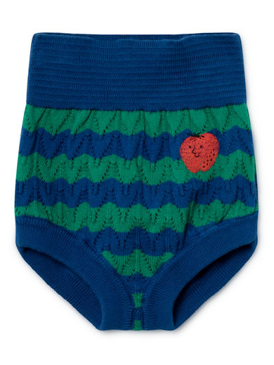 Bobo Choses - Strawberry Knitted Culotte, Seaport (119124)