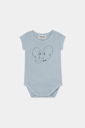 Bobo Choses -  Elephant Short Sleeve Body 12000030