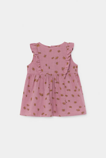 Bobo Choses - All Over Daisy Ruffle Dress 12000088