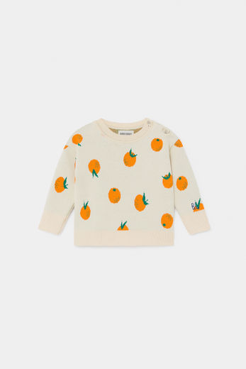 Bobo Choses -  Oranges Knitted Jumper 12000091