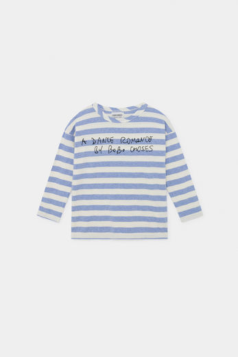 Bobo Choses - A Dance Romance Striped Long  Sleeve Shirt 12001032