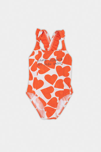 Bobo Choses - All Over Hearts Swimsuit UVP 50+, 12001159