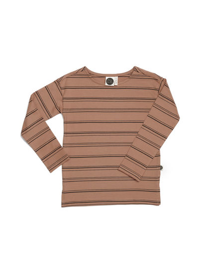 Mainio - Stripe Shirt, Sandstorm