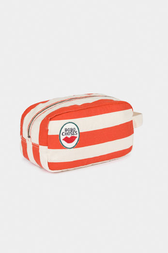 Bobo Choses - Red Stripes Pouch 12011010