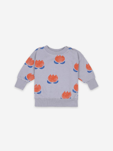Bobo Choses - Chocolate Flower Sweatshirt, 121AB097