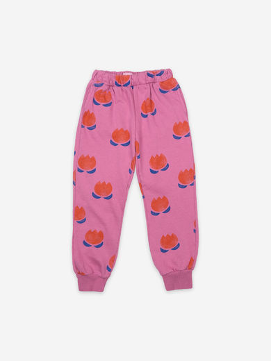 Bobo Choses - Chocolate Flowers All Over Jogging Pants, 121AC053