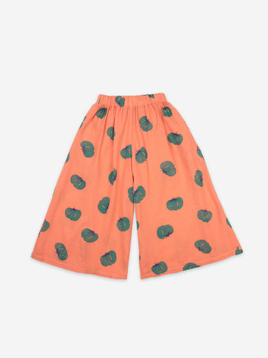 Bobo Choses - Tomatoes All Over Woven Culotte Trousers, 121AC058