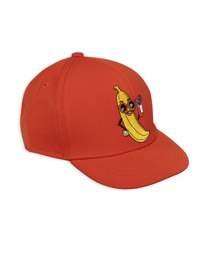 Mini Rodini - Banana trucker Cap, Red