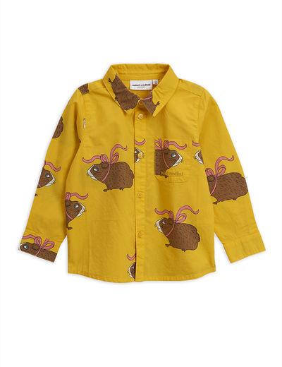 Mini Rodini - Posh guinea pig shirt, yellow