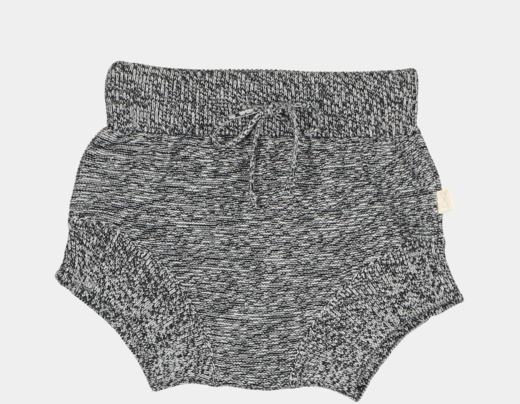 Mini sibling - Knitted pants, speckle