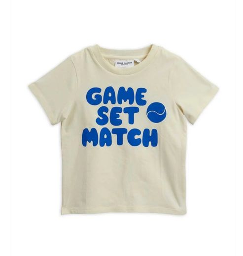 Mini Rodini - Game sp tee, blue