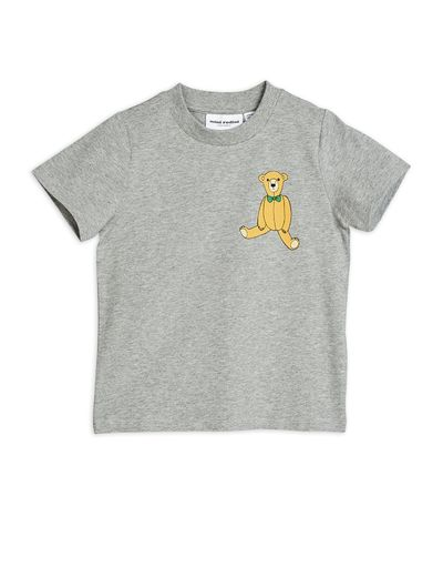 Mini Rodini - Teddy sp tee, Grey melange
