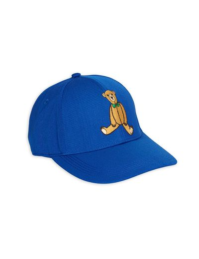 Mini Rodini - Teddy bear cap, Blue