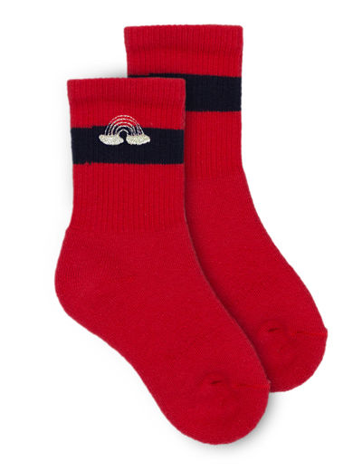 Bobo Choses - Sport Socks, Red Clay