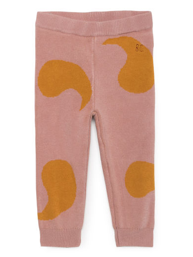 Bobo Choses - Rose Knitted Trousers, Mellow Rose