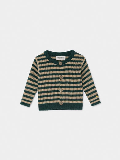 Bobo Choses - Striped Knit Cardigan, Baby (219262)