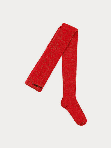 Bobo Choses - Red Lurex Tights (219306)