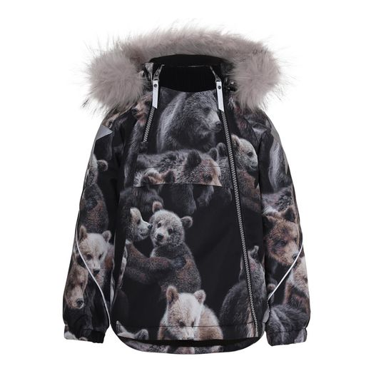 Molo Kids - Hopla Fur jacket, Teddy