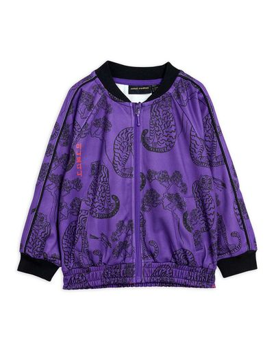 Mini Rodini - Tigers wct jacket, Purple