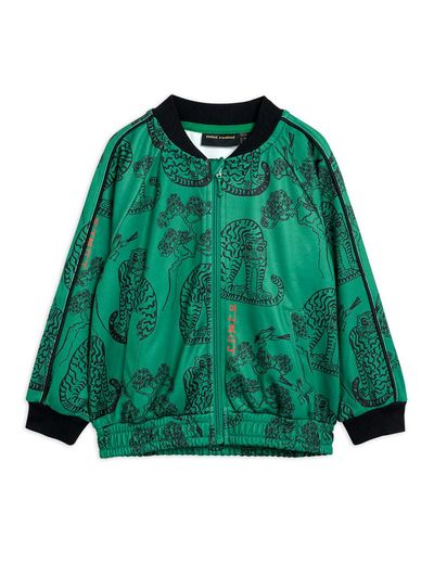 Mini Rodini - Tigers wct jacket, Green