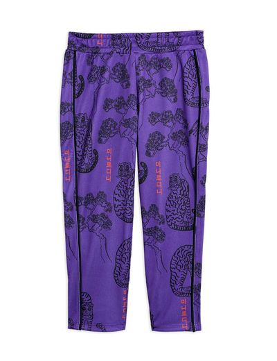 Mini Rodini - Tigers wct trousers , Purple