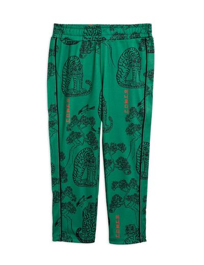 Mini Rodini - Tigers wct trousers, Green