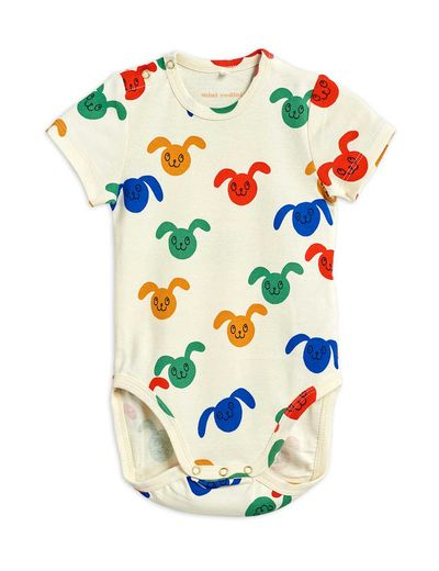 Mini Rodini - Rabbits aop ss body, Multi