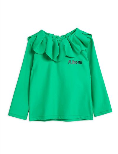 Mini Rodini - Strawberry UV top UPF 50+, Green