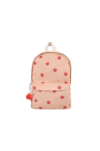 Tinycottons - APPLES BACKPACK, nude/burgundy