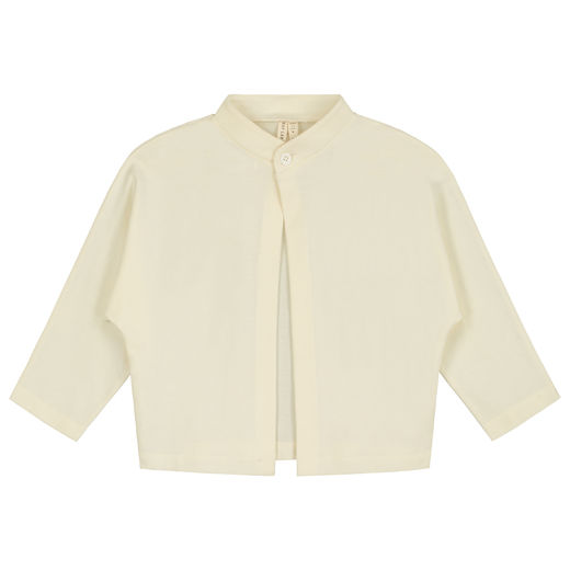GRAY LABEL - One-Button Cardigan, Cream (GL-TOP053-CRE)