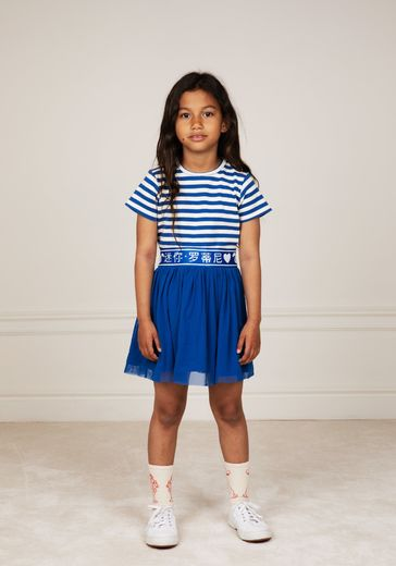 Mini Rodini - Tulle skirt, Blue