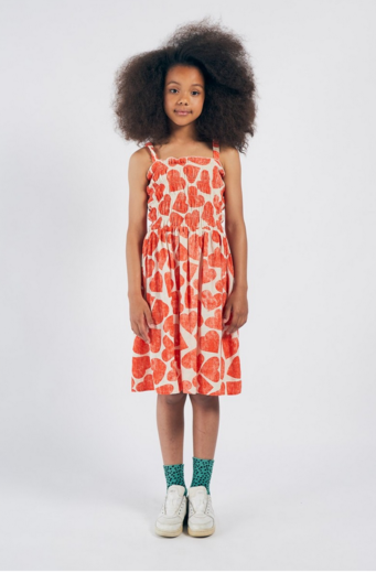 Bobo Choses - Bobo Choses - All Over Hearts Smoked Dress 12001115
