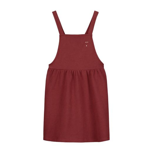 Gray label- Pinafore dress, burgundy