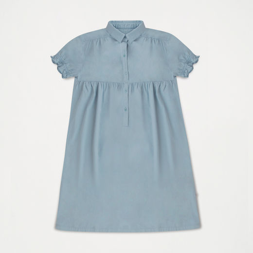 Repose AMS - Dreamy shirt dress, Ironlike blueish