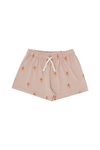 Tinycottons - ICE CREAM CUP SHORT, dusty pink/papaya, SS21-012
