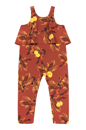 Kaiko - Oasis Jumpsuit, Amber orange