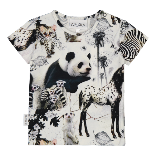 Gugguu - Print T-shirt, baby animals