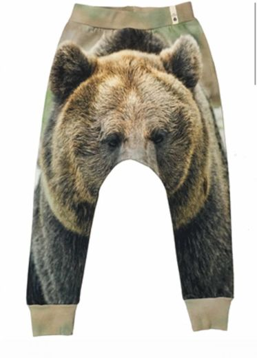 Popupshop - Baggy leggings, bear