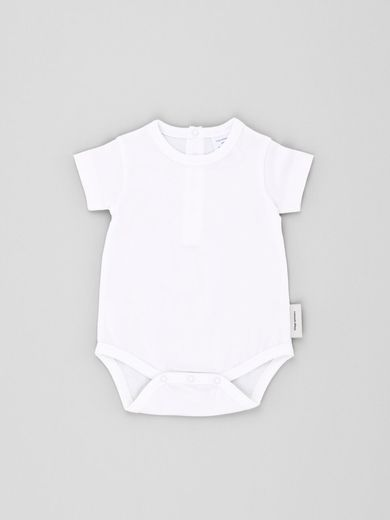 Tinycottons - Basic SS body, white