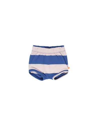 Tinycottons - Big stripes bloomers, pale pink/blue